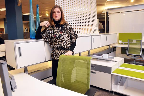 Emily Rolwing, workspace consultant at MBI, says collaboration in business today is contributing to smaller office space, so the emphasis is on how to design space.
