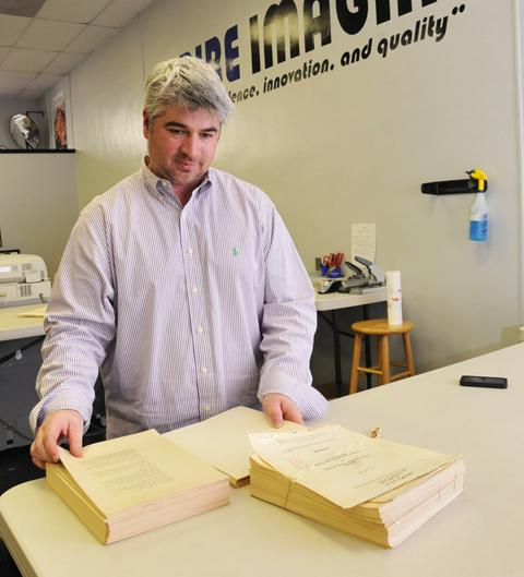 Zack Jamison credits the success of his business through the Great Recession to tenacity. He says Empire Imaging won't refuse a job, be it documents or digital.