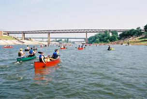 Outdoors Inc. has been sponsoring the annual Canoe and Kayak Race for 31 years. The 3.1-mile race is expected to draw about 500 participants.