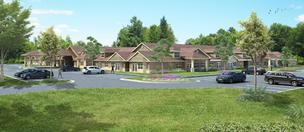 Artist's rendering of Culpepper Place Assisted Living, a Foster Hospitality Group project that will be built in Collierville