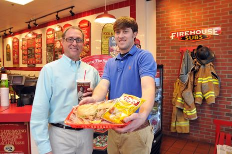 David and John Whidden are owners of Whiddenprise LLC, which has a franchise agreement with Firehouse Restaurant Group Inc. to open three locations.