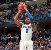 University of Memphis guard Chris Crawford