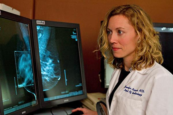 Dr. Jennifer Bergin, radiologist and medical director of breast imaging for ProHealth Care's Center for Breast Care, which will relocate to the new cancer center.
