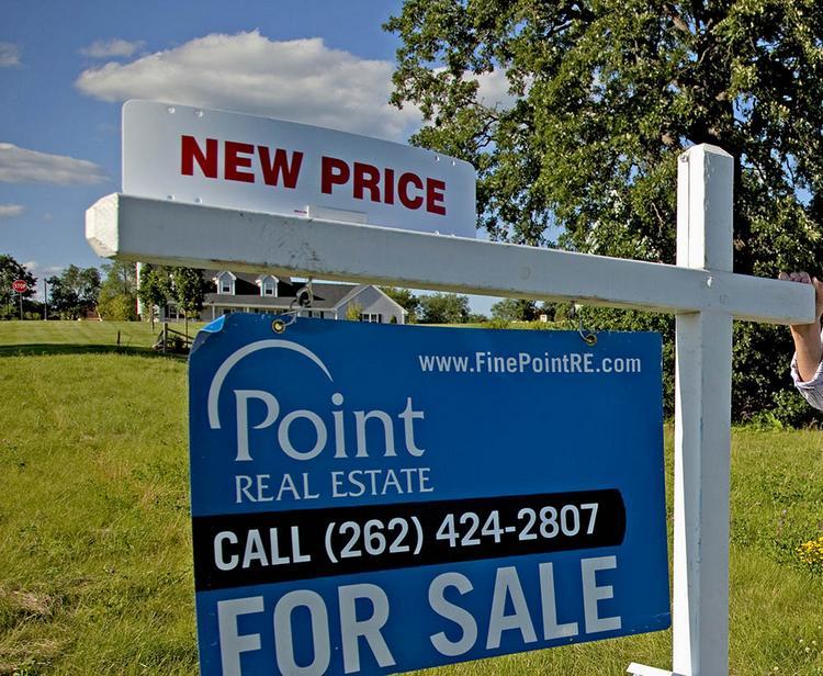 The inventory of houses listed for sale in September is enough to last 7.7 months under the current pace of sales.