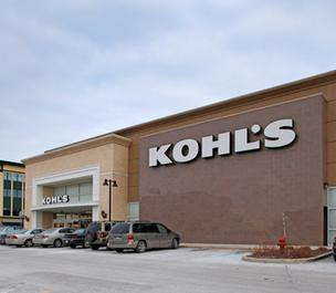 Kohl's Department Stores opened two new stores in the Washington area on Wednesday.