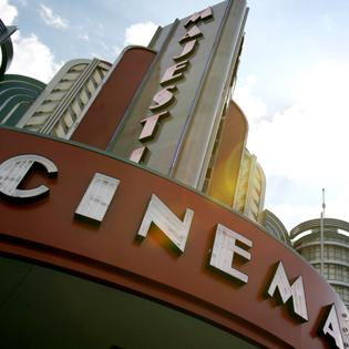 """Majestic Cinema is one of nine Marcus Theatres that will show """"The Hobbit"""" in new high-rate format."""