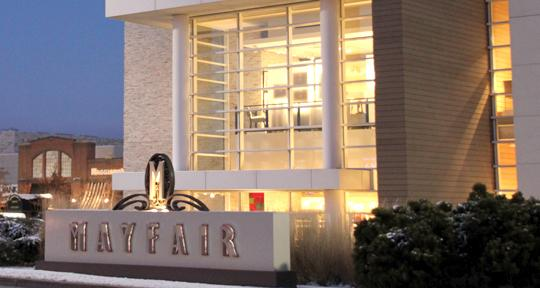 Mayfair Mall is a major traffic generator in the area of Highway 100 that is under consideration for a redesign.