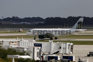 Steep cuts in service by Frontier Airlines is contributing to a drop in passenger usage of General Mitchell International Airport.