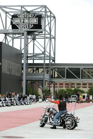 Don't miss a visit to the Harley-Davidson Museum, so says the New York Post.