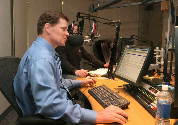 """WOKY-AM (920) will be called """"The Big 920"""" and will feature local Wisconsin sports-talk personalities and national sports-talk hosts, including Dan Patrick (above)."""