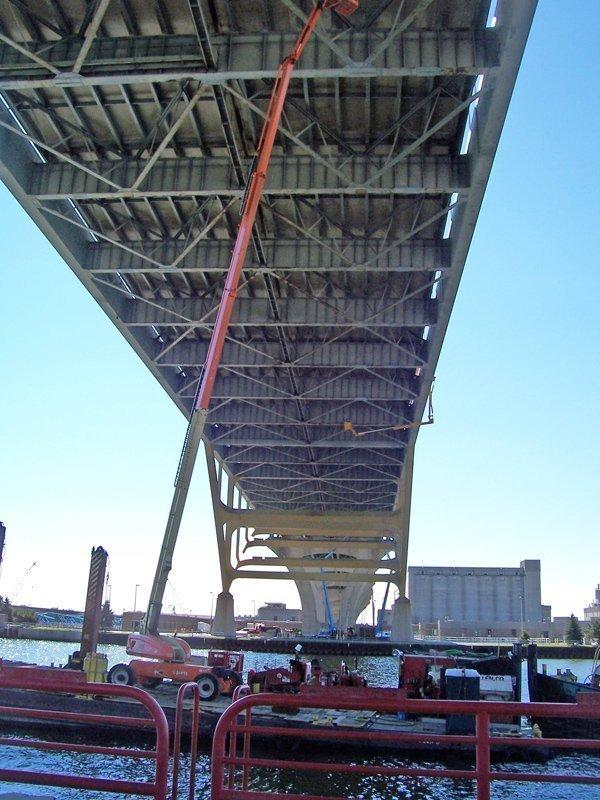 GRAEF's Hoan Bridge rehabilitation project