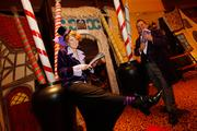 """Greeters led business executives into The Business Journal's """"Candy Factory."""""""