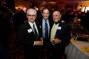 Tom Krist of WFA Staffing Group, Joe Sweeney of Corporate Financial Advisors and Franklyn Gimbel of the Wisconsin Center District