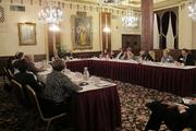 The group discussed the local impact of national health care reform.