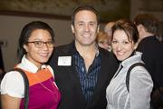 (From left) Angela Warren of Company B Brand Marketing, Keith Harenda of KPH Construction and Brigette Breitenbach of Company B Brand Marketing