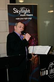 The Skylight Music Theatre performed at the event.