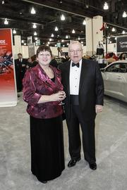 Richard Geyer, president and CEO of the Wisconsin Center District, with his wife, Joann Geyer.