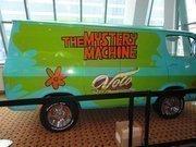 """A """"Scooby Doo Mystery Machine"""" van."""