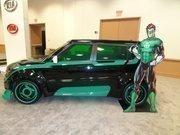 "A ""Green Lantern"" car."