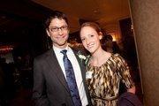 Forty under 40 winner Austin Ramirez, of HUSCO International, with his wife, Heather.