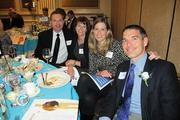 40 Under 40 winner Nelson Williams of Briohn Building Corp., with family and friends.