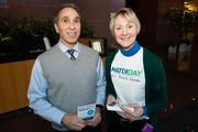 Bill Halper of Thompson National Properties and Claudia Scholl of the Greater Milwaukee Foundation