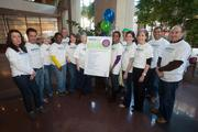 Match Day organizers and volunteers at the 411 Building in downtown Milwaukee