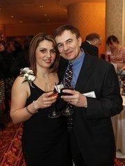 40 Under 40 winner Anna Bakalinsky of Mila's European Bakery with her husband, Roman Bakalinksy