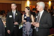(At left) 40 Under 40 winner Brian Randall of Friebert, Finerty & St. John SC and his wife,Amy Randall.