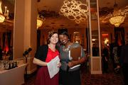 Stephanie Gibas, a member of the Taste of Milwaukee planning committee, and Nirvana Cobb, Taste of Milwaukee event manager