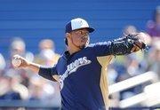 7. Yovani Gallardo, Milwaukee Brewers - $8,000,000