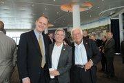 (From left) Milwaukee architect Greg Uhen, Milwaukee Wave president Sue Black and Cudahy.