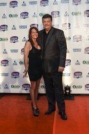 (Right) Milwaukee sports radio personality Bill Michaels