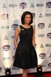 2012 Miss America Laura Kaeppeler, who is from Kenosha.