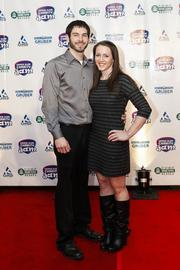 (Right) World champion gymnastChellsie Memmel, who is from West Allis.