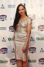 "Naima Adedapo, one of the final 12 contestants on the 2010-11 season of ""American Idol."""