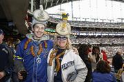 Fans wore unusual outfits for opening day.