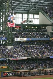 The game drew the fifth-largest crowd in Miller Park history.