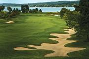 17th hole at Geneva National Golf Club - Player course