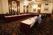 Fifteen of the The Business Journal's Forty under 40 Class of 2012 attended a roundtable on April 2.