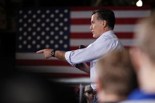 """Doing fine?"" Despite Obama's economic gaffes, Romney has yet to convince likely voters that he's more in touch with average Americans and close an Obama lead, according to a new Bloomberg poll."