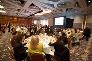 The event drew several hundred Milwaukee-area business executives.