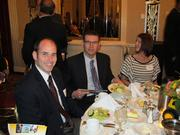 (Center) Todd Battle, of the Kenosha Area Business Alliance