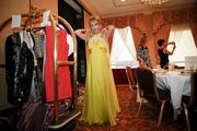 The fashion show included clothing from local retailers.