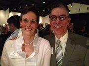 Meg and Ricardo Diaz of the United Community Center