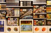 The store will sell a variety of Lego products.