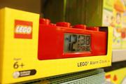 Products even include Lego alarm clocks.
