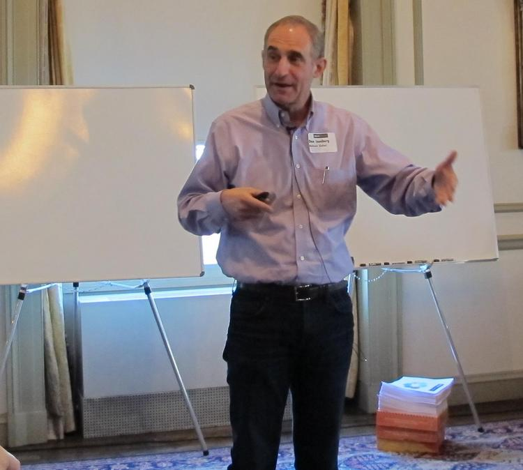 Dan Isenberg and colleagues from Babson College will lead a two-month sales growth program for local small businesses.
