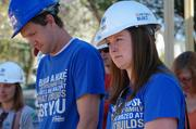 (From left) Brian Soderman, executive director of Milwaukee Habitat for Humanity, and Melissa Herguth, the group's development director