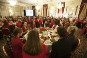 The event was attended by several hundred Milwaukee-area business executives.